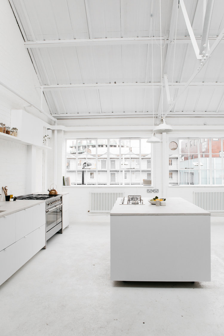 Rye London white kitchen