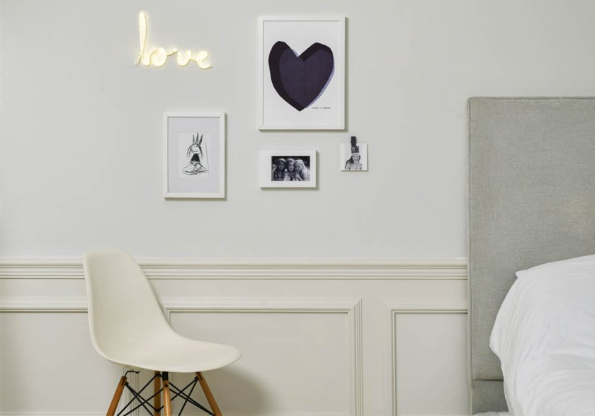 How to hang picture frames without drilling into your wall