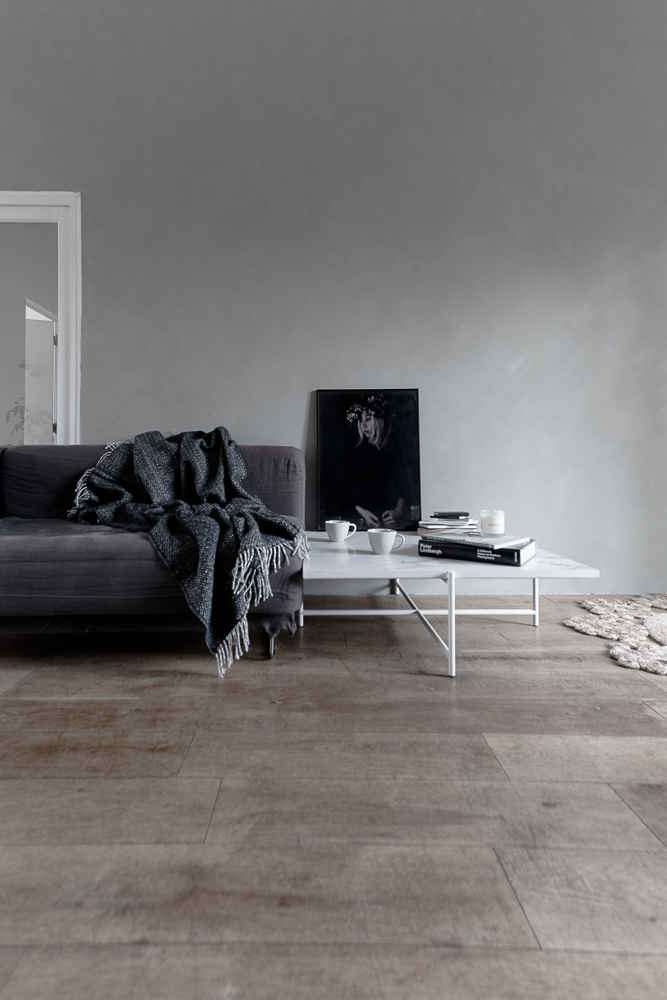 Monochrome hues for a winter look at home