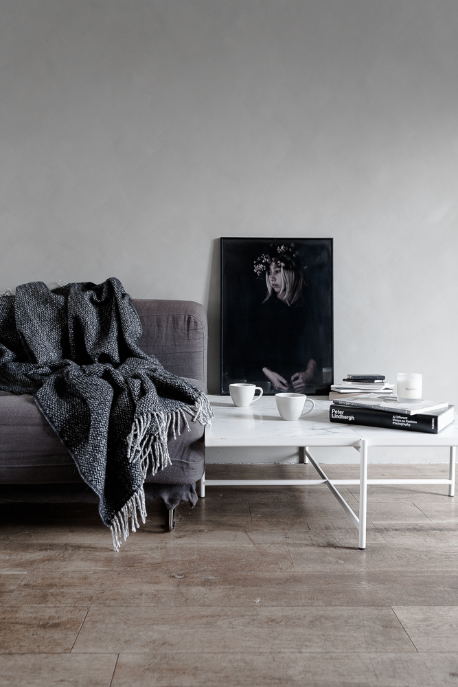 Woollen throw, cups & candles from Murmur, Photography & styling by BODIE and FOU