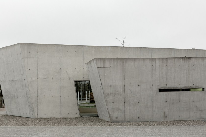 Vitra Campus: Vitra Fire station designed by Zaha Hadid, 1993