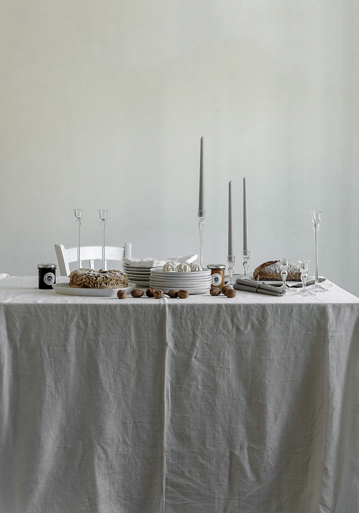 Christmas styling for The White Company