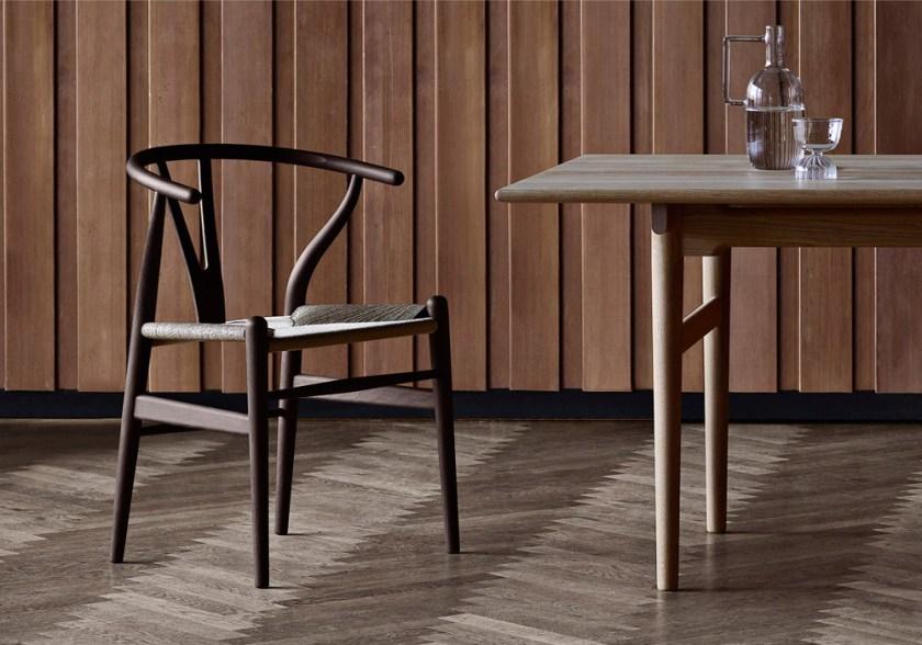 Limited Edition CH24 Wishbone chair by Hans J. Wegner