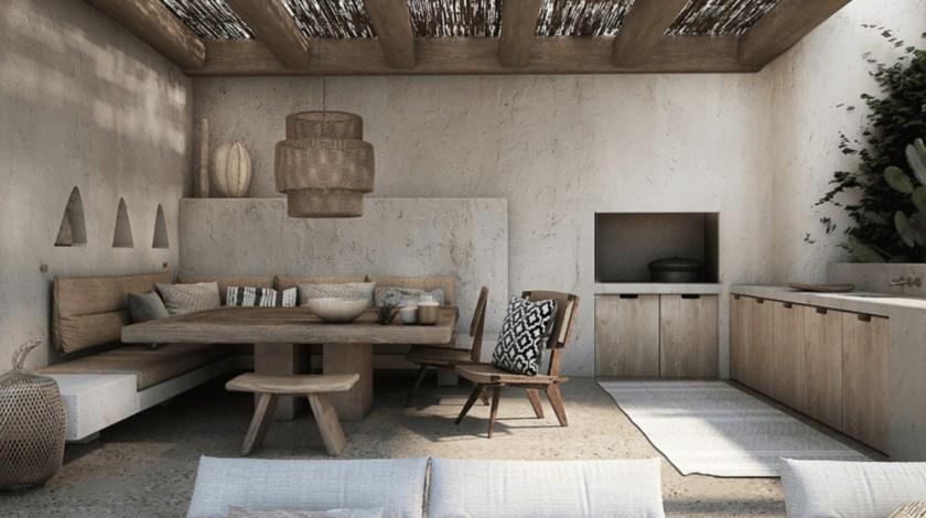 A residence in Mykonos