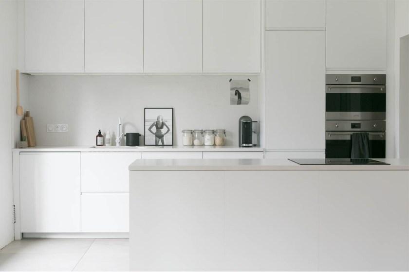 Le relooking de notre cuisine blanche, minimaliste