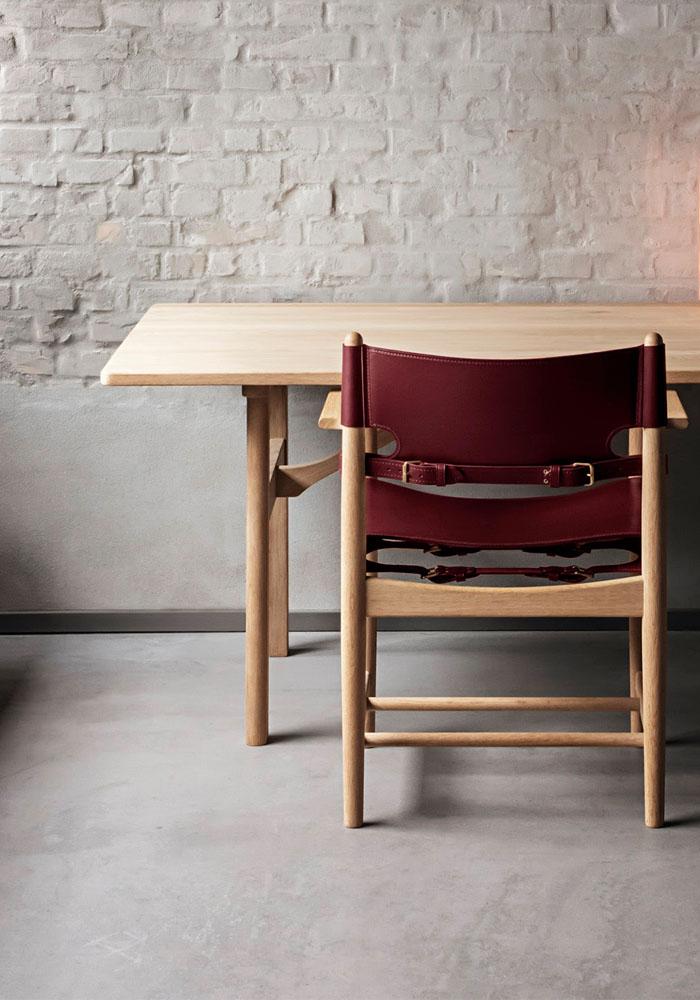 The Spanish chair by Børge Mogensen 3
