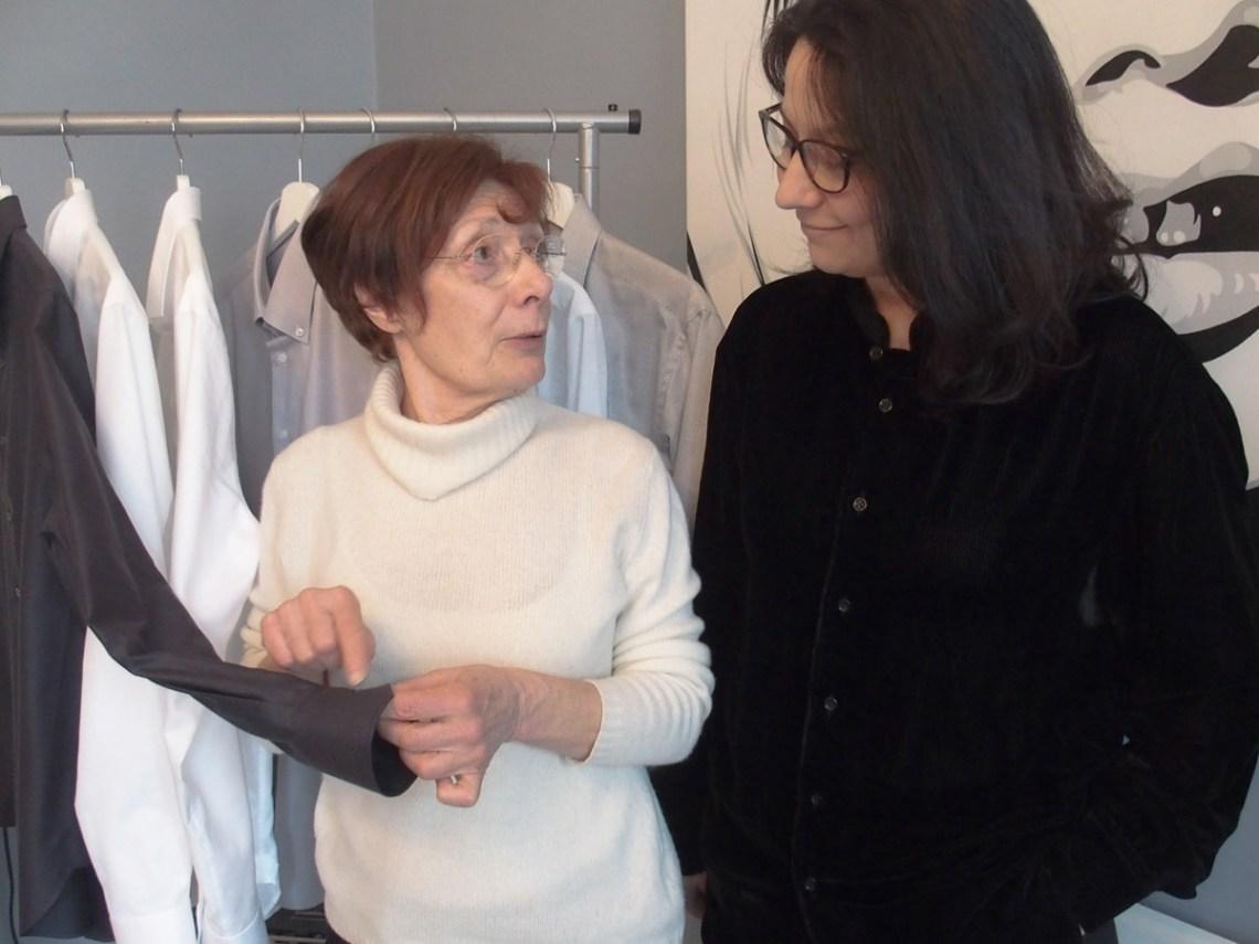 vanda-polumbo-og-silvia-endresen-proudserer-kvalitets-skjorter