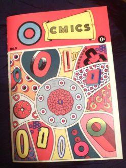Samplerman - Ocmics, fanzine autoédité de BD autour de la lettre O - 2018