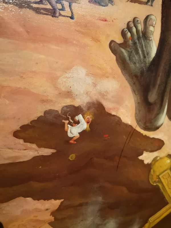 """Albert Dubout """"David et Goliath"""" (extrait)"""