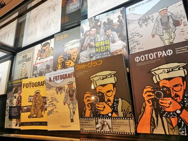 """""""Le Photographe"""" a été traduit dans une vingtaine de langues."""