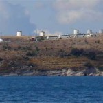 Windmills between Bodrum and Gumbet in Turkey