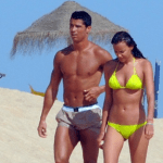 The Daily Mail's photo of Ronaldo in Bodrum
