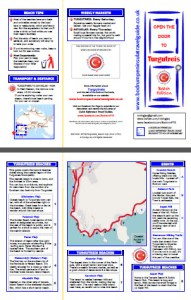 Front and Back cover of Turgutreis Beaches Quick Reference Travel Guide Turkey