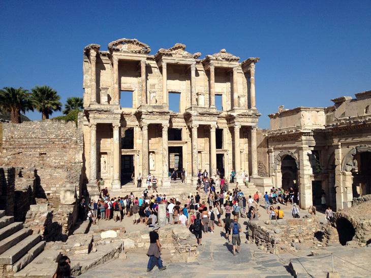 Ancient Ruins Ephesus Turkey