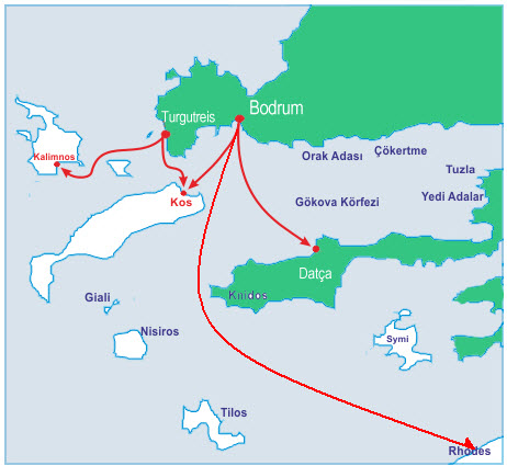 Greek Island Ferry Timetable