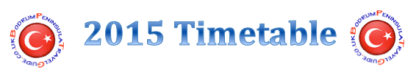 2015 Timetable Bodrum Peninsula Travel Guide Logo