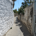 Back Streets Leading to Mausoleum Bodrum Travel Turkey