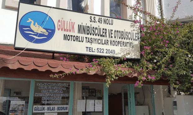 Gulluk Dolmus bus station office