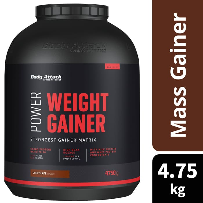 The Power Weight Gainer Supplies Proteins And Carbohydrates