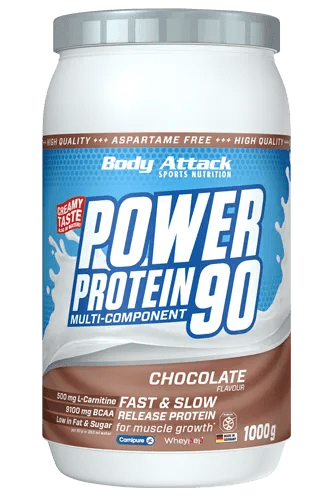 Body Attack Power Protein 90 The Best Seller For Muscles