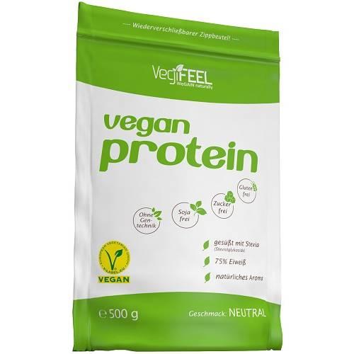 Vegan Protein 500gr Naturel