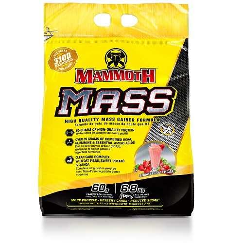 Mammoth Mass (Mammoth 2500) 6800gr Aardbei