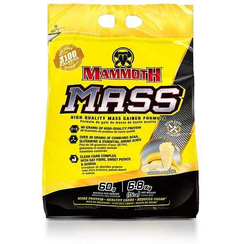 Mammoth Mass (Mammoth 2500) 6800gr Banaan