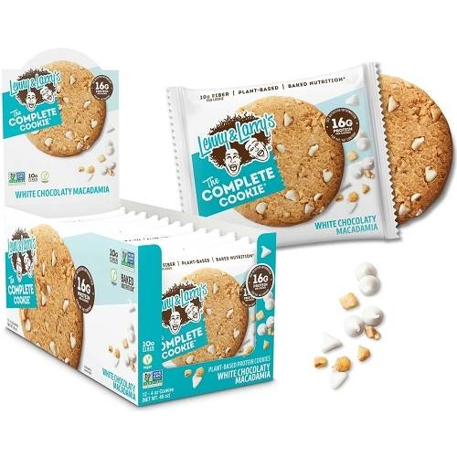 The Complete Cookie 12cookies White Choco Macademia