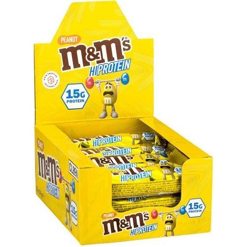 M&M's Hi Protein Bar 12repen Peanut