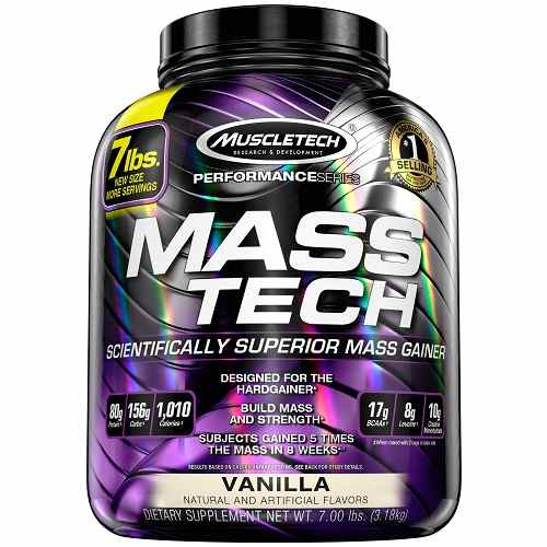 Mass Tech Performance 3180gr Vanille