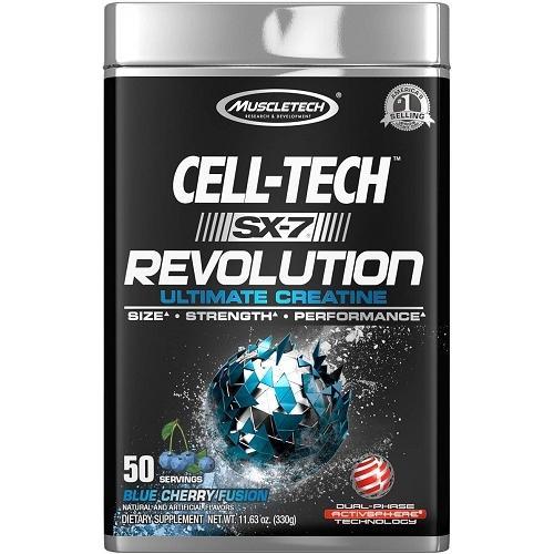 SX-7 Revolution Cell Tech 50servings Blue Cherry Fusion