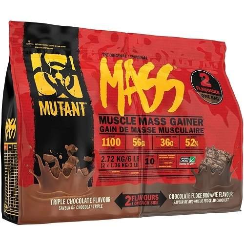 Mutant Mass Dual Chamber Bag 2720gr Triple Choco / Choco Fudge