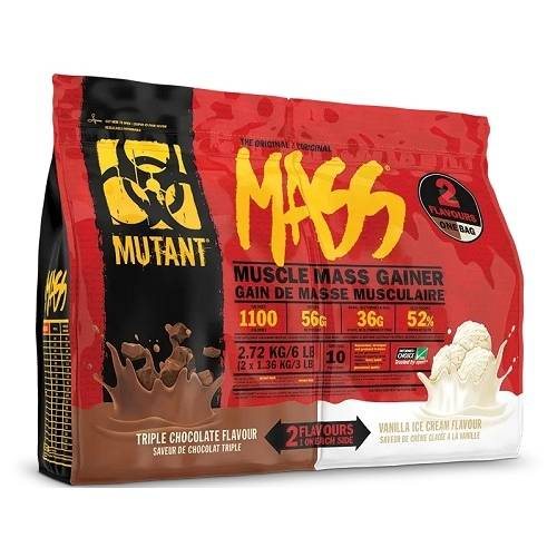 Mutant Mass Dual Chamber Bag 2720gr Triple Choco / Vanilla Ice