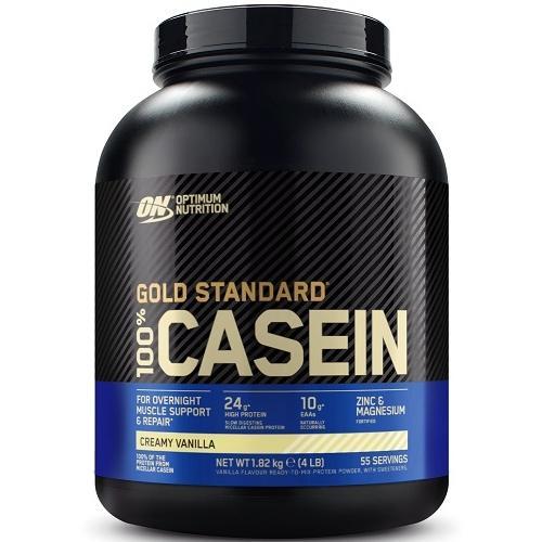 100% Casein Gold Standard 1820gr Vanille