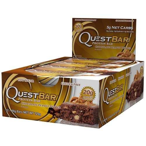 Quest Protein Bars 12repen Choco Peanut Butter