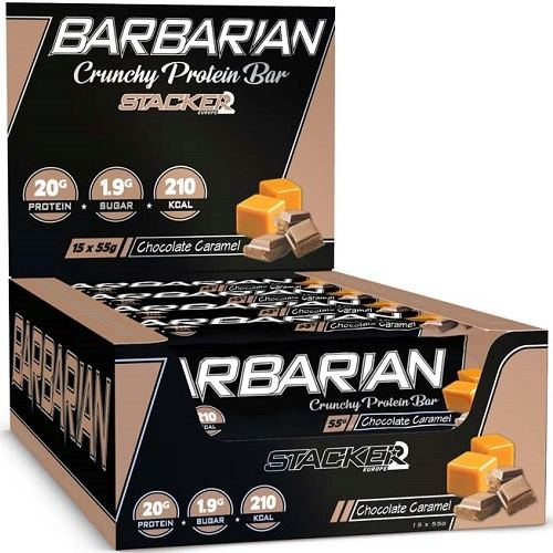 Barbarian Bar 15repen Chocolate Caramel