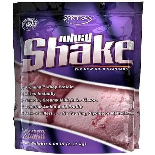 Whey Shake 2270gr Aardbei