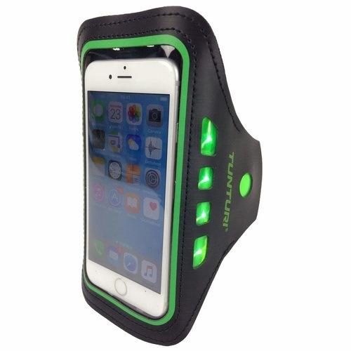 Telephone Sport Armband LED 1 stuk Green
