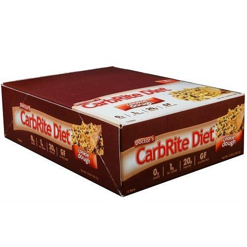 Low Carb Carbrite Diet Bar 12repen Cookie Dough