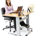 DeskCycle Desk Exercise Bike Pedal Exerciser small