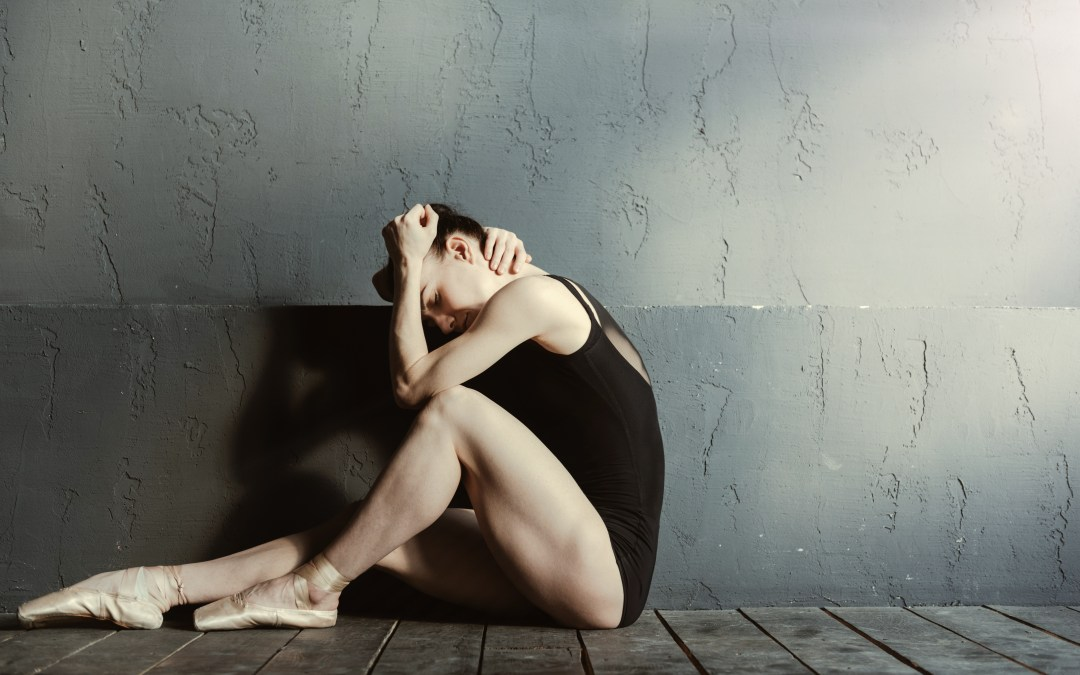 WHEN IT HURTS TO DANCE: The show must go on, right?