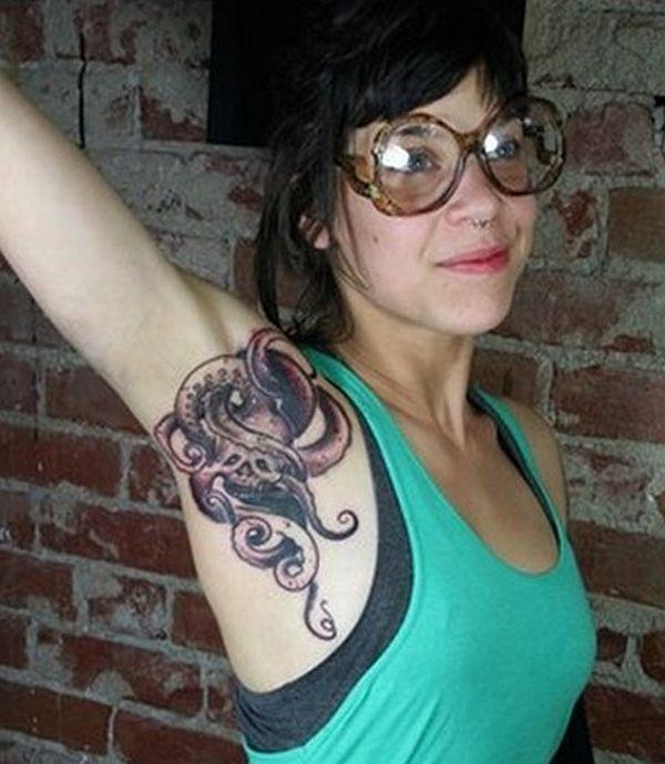 Armpit Tattoo