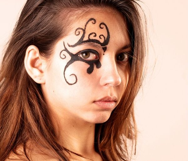 facial tattoo (3)
