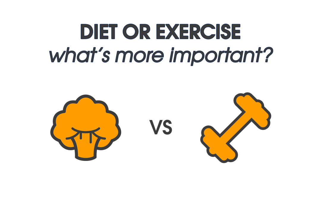 Diet or Exercise: What's more important?