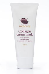Collageen cream mask