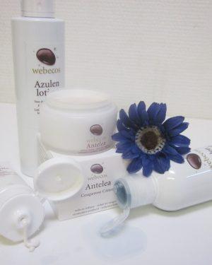 Verzorgingspakket voor de gevoelige huid