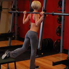 One Leg Barbell Squat