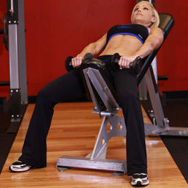 Front Incline Dumbbell Raise
