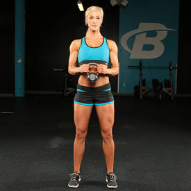 Kettlebell Curtsy Lunge