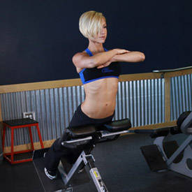 Image result for lower back extensions women